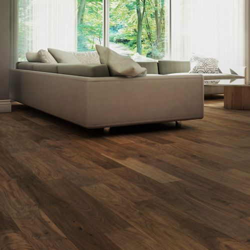 Black Walnut Engineered 5 316 In Micro V By Lauzon Wood Floors