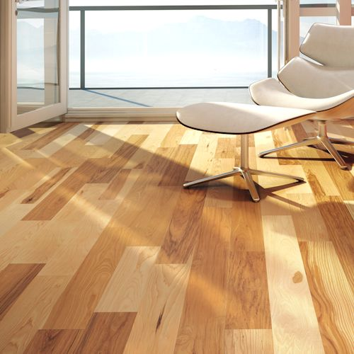 Emira Series Hickory 5-3/16 IN. (Micro-V) by Lauzon Wood Floors