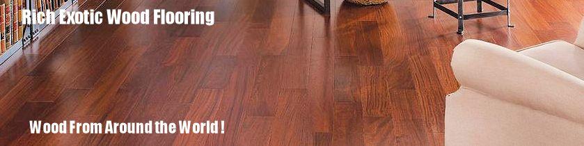 Premium exotic hardwood floors for Exotic wood flooring