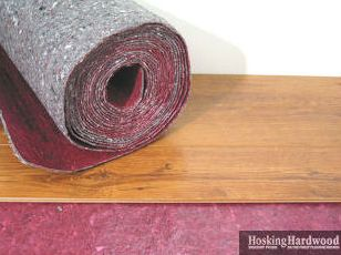 All About Underlayments - How to install moisture barrier under laminate flooring