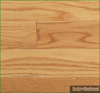 Classic red oak maple flooring Unstained hardwood floors
