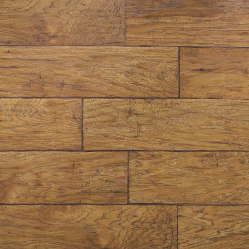 Rustic Laminate Flooring technology captures the authenticity of rustic barn wood weathered concrete reclaimed metals and other natural features in durable laminate flooring Rustic Hickory Planks Laminate Flooring Ux1102