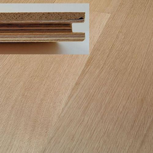 Unfinished Engineered White Oak Rift/Quartersawn by White Mountain Hardwood Flooring