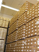 hardwood flooring cartons