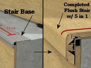 Quick Step Laminate Flooring laminate flooring by quick step Laminate Floors Quick Step Laminate Flooring Incizo Stair Base Quick Step Incizo Base For Flush Stairnose