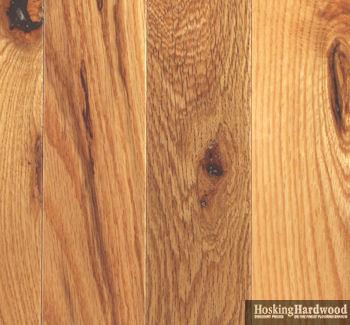 Hardwood floors mont royal hardwood flooring 4 in for Rustic red oak flooring